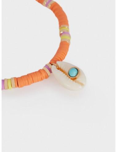 Bracelet Élastique Coquillage