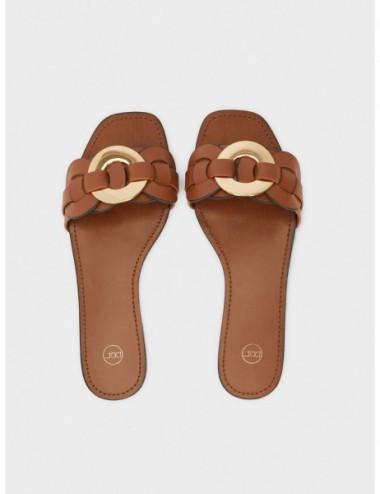 Sandales Plates Croisée...