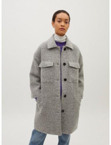 Manteau En Fourrure Avec...