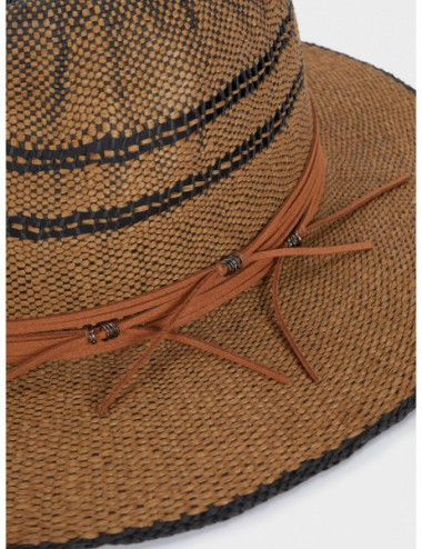 Chapeau Texture Raphia