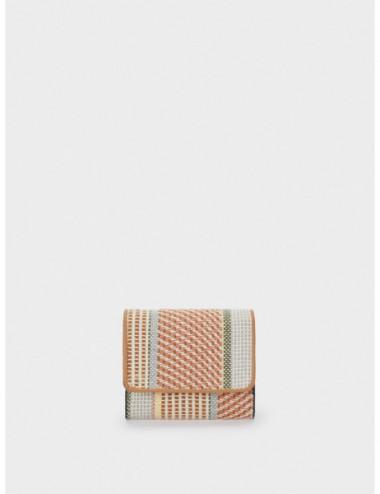 Portefeuille Compact Tissu...