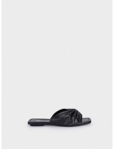 Sandales Plates Matelassées...