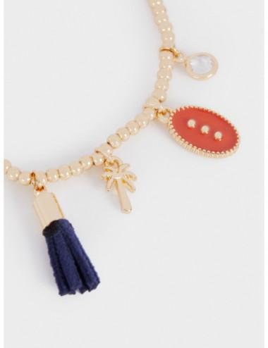 Bracelet Élastique Avec Charms