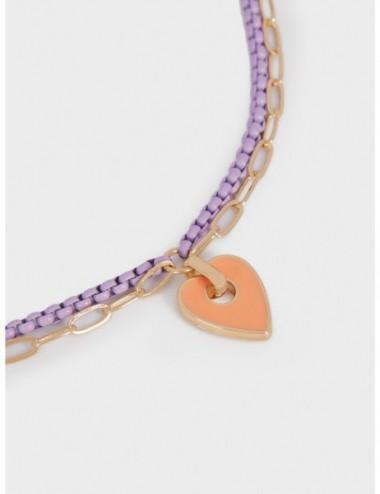 Bracelet De Cheville Cœur