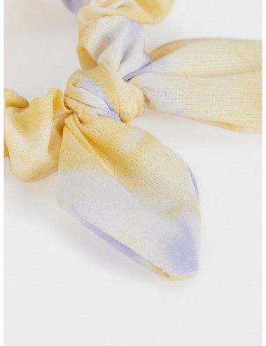 Chouchou Tie-Dye Avec Nœud