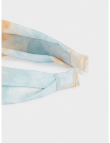 Serre-Tête Large Nœud Tie-Dye