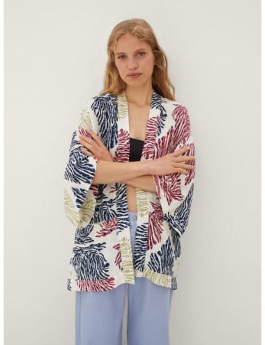 Kimono Ouvert Imprimé