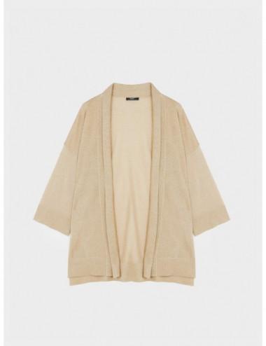 Kimono Ouvert En Maille