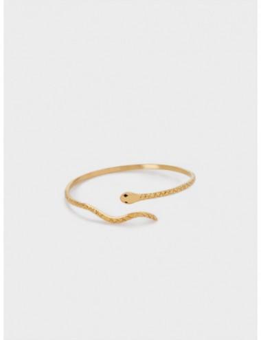 Bracelet En Acier Avec Serpent
