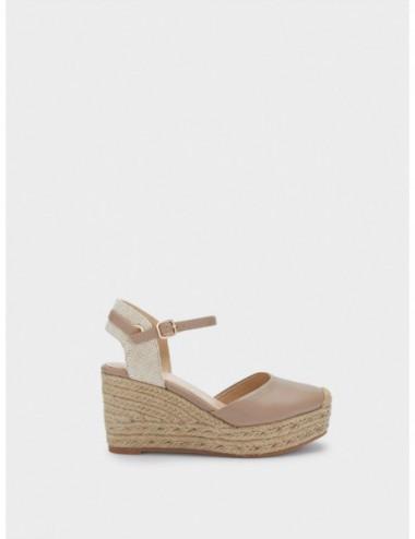 Sandales Compensées À La...