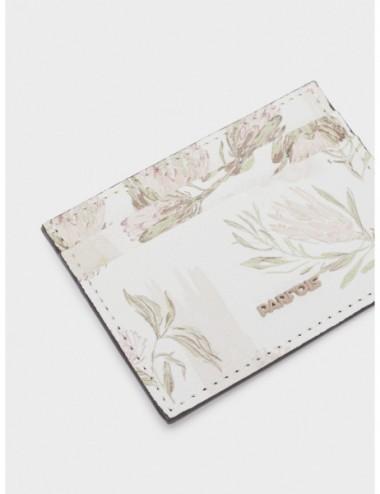 Porte-Cartes Imprimé Floral