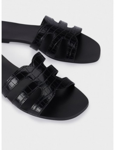 Sandales Plates À Brides...