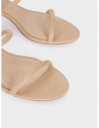 Sandales À Talons Avec Brides