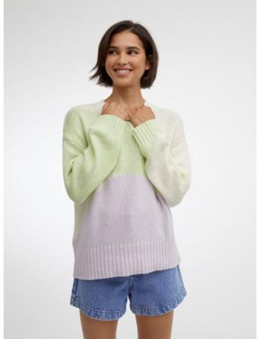 Pull En Maille 100% Coton